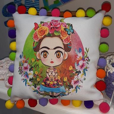 Almohadón Frida - Con el alma en un hilo