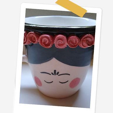 Tazón de ½ litro (Frida) - Caro Artesanías