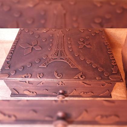 Caja de madera -  Artesanías  Cinco Estrellas