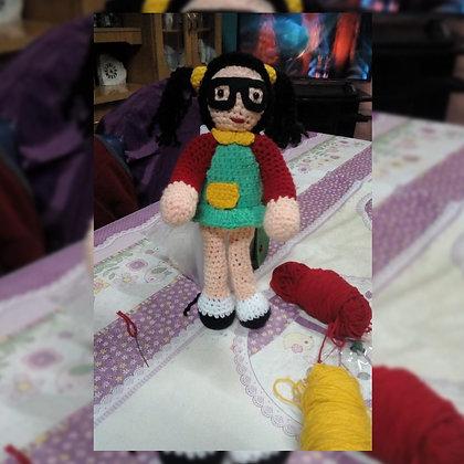 Muñeca Chilindrina - Manitos Laboriosas