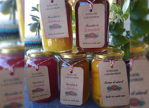 Mermeladas de Tomate frasco de 450 gr - Atelier Las Flores