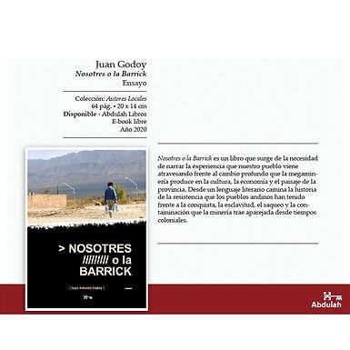 Nosotres o la Barrick - Abdulah Libros