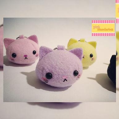 Llaveros gatito dango c/u - PinkMandarina