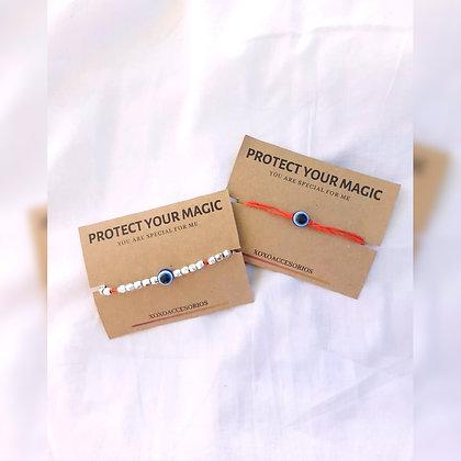 Pulseras protectoras - Xoxo Acccesorios