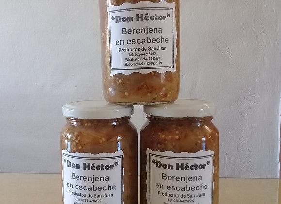 Berenjenas en escabeche - Dulces y Conservas Don Héctor