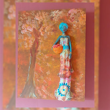 Cuadro madera  - Maly Regalaría artesanal