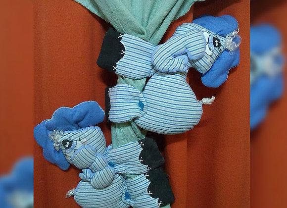 Sujeta cortinas  - Maku Artesanías