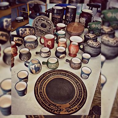 Fuentes de cerámica - Puebla Cerámica
