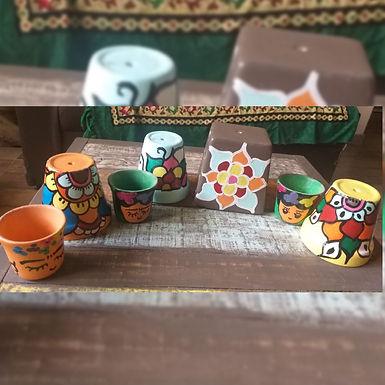 Macetas de cerámica - Rosan Arte y Deco