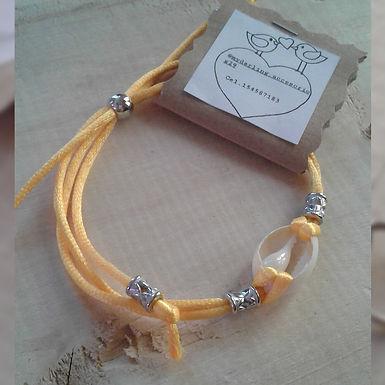 Tobillera amarilla - My darling accesorios