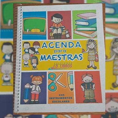 Agenda Docente 2021 - Ediciones JD