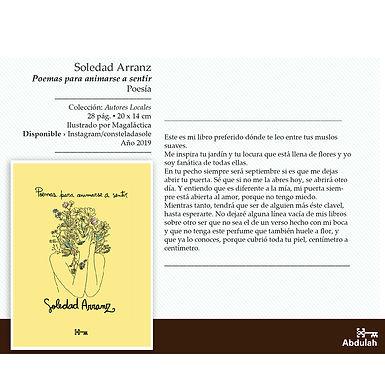 Poemas para animarse a sentir - Abdulah Libros