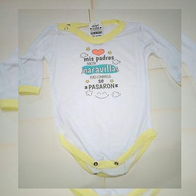 Bodys bebe - Cuatro Remos Sublimados