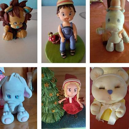Muñecos de porcelana - Carmat