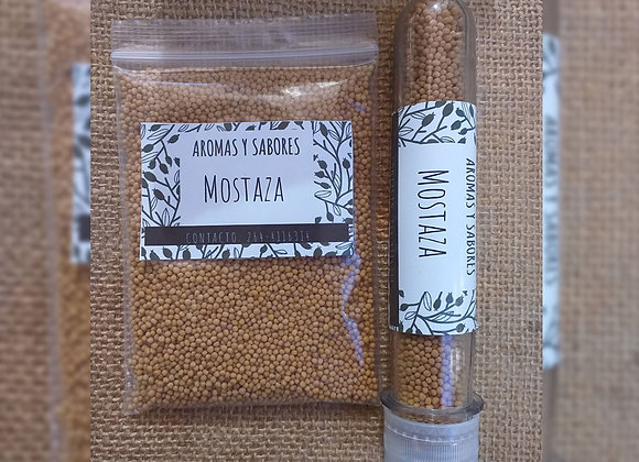 Mostaza amarilla en grano - Aromas y Sabores