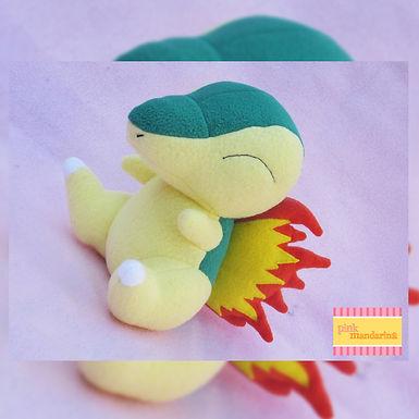 Muñeco de Cyndaquil - PinkMandarina