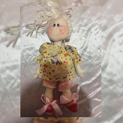 Muñeca articulada - Ojitos Picarones