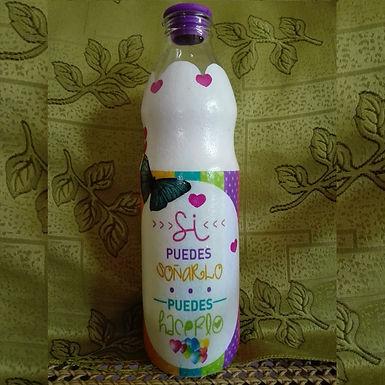 Botellas Decoradas - Art & Mañas