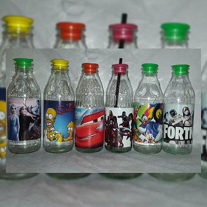 Botella de 1/2 l  - Reciclar-Reutilizar