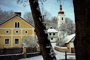 Jósvafő műemléki védett Ófaluja télen Kert| Zuzmó Vendégház Jósvafő | Szállás Aggeleki Nemzeti Park
