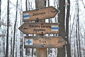 Országos Kéktúra 24. szakasz – Aggteleki karsztOKT 24 Túrázás Aggteleki Nemzeti Park