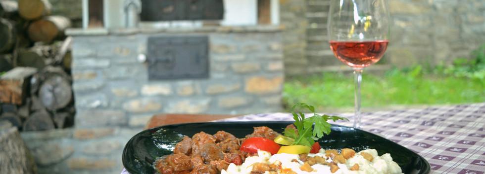 Jellegzetes helyi ízek az Öreg Malom Fogadóban