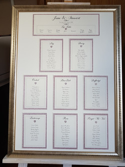 Table Plan_Rose gold and Ivory table pla