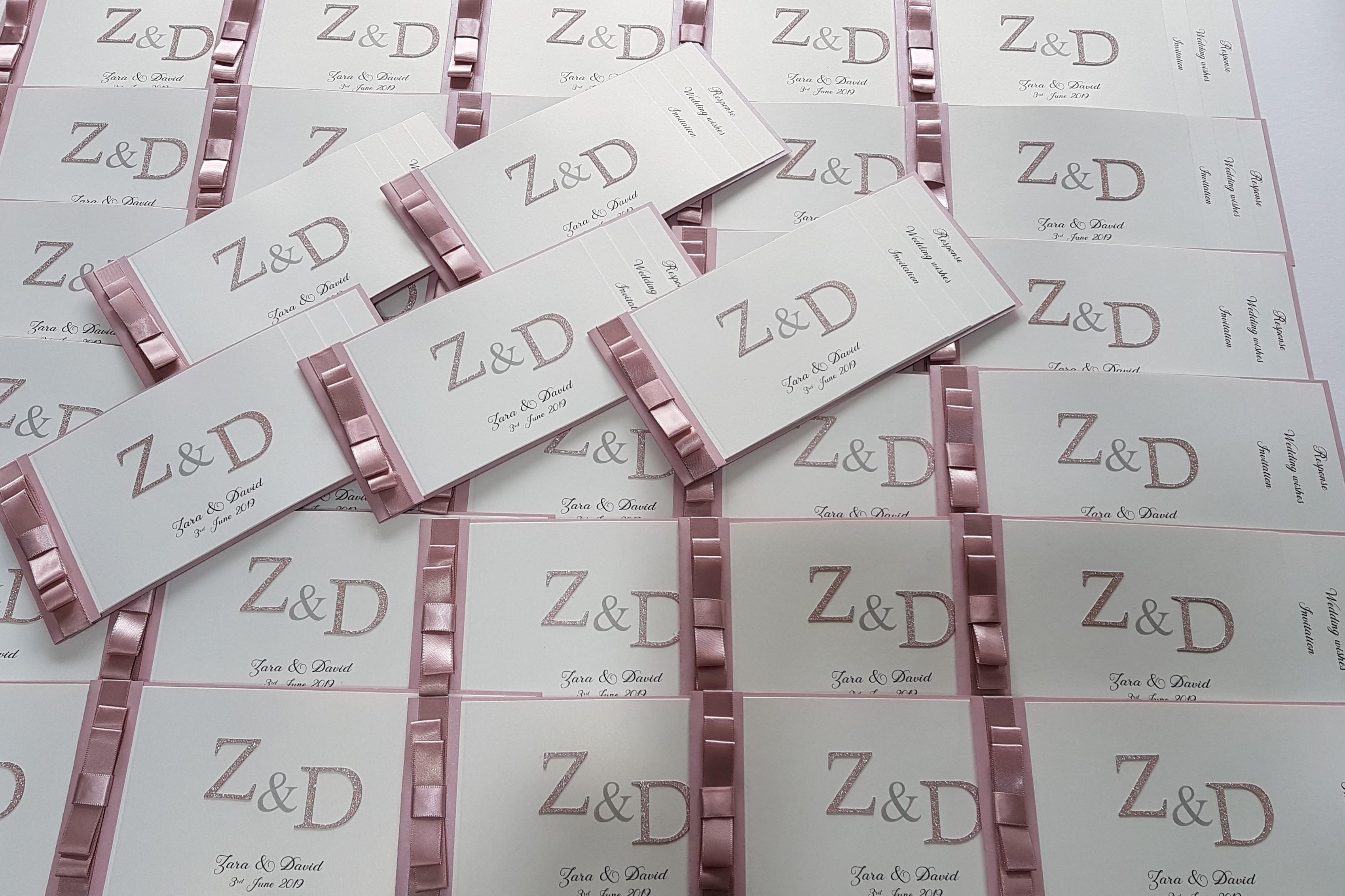 Monogram cheque book blush pink (2)