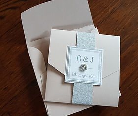 Boxed nude and blush pink pocketfold wit