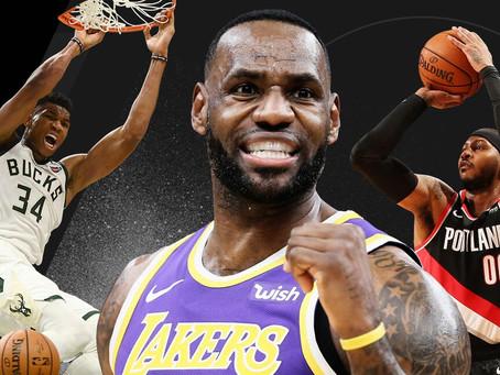 NBA Power Rankings: November Edition