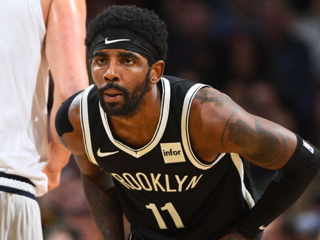What Is Going On With Kyrie Irving's Shoulder?