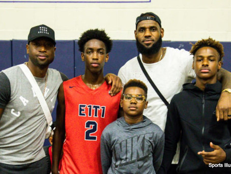 The Overexposure of Zaire Wade and Bronny James