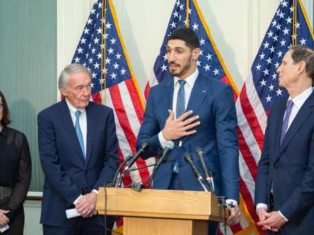 Enes Kanter Knows When He Speaks Out About Turkish Human Rights Abuses, People Listen