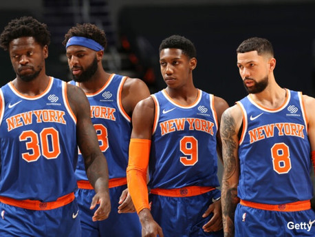 The Resurgent New York Knicks Are Working Their Way Back To Relevance