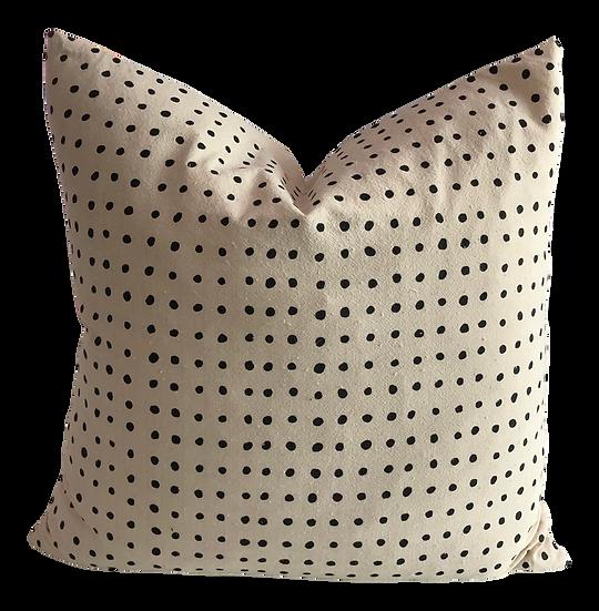 Boho Chic Pins Organic Cotton Pillow