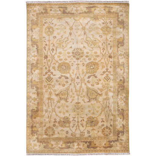 21st Century Vintage Antalya Hand Knotted Rug