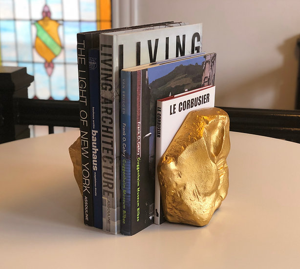 Stone Book Ends