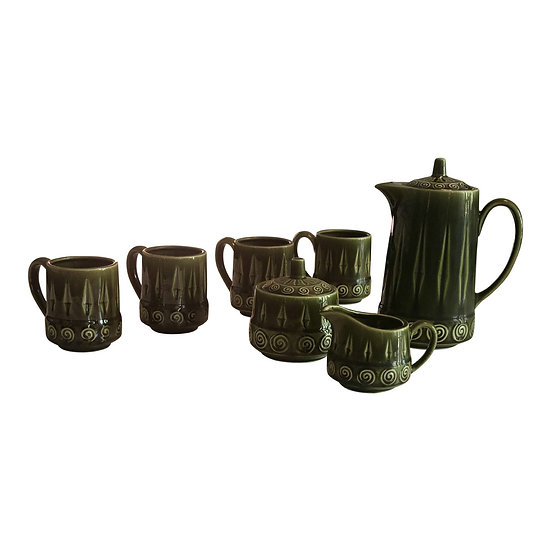 Royal Sealey Japanese Tea Set - Seven Piece Set