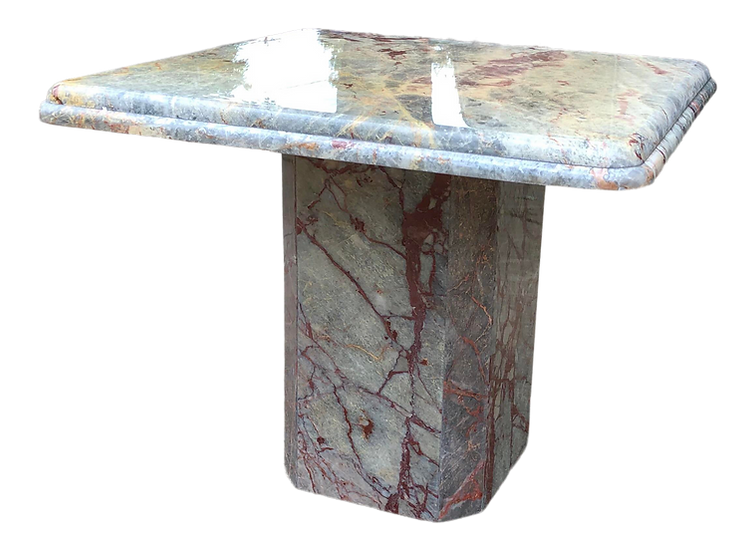 Contemporary Marble Accent Table