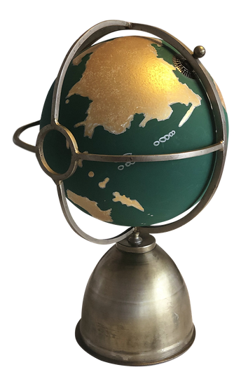 Green Slate Globe