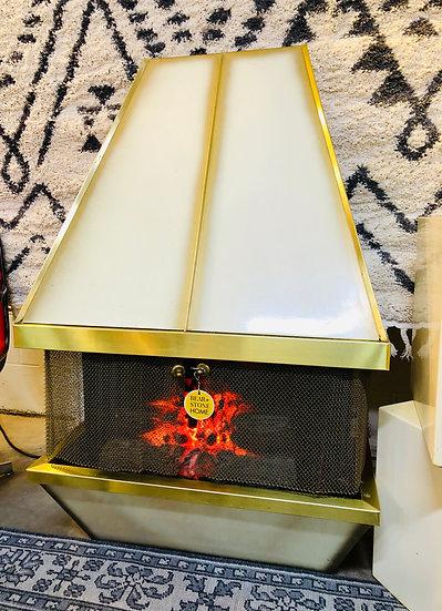 Mid Century Dyna Fireplace
