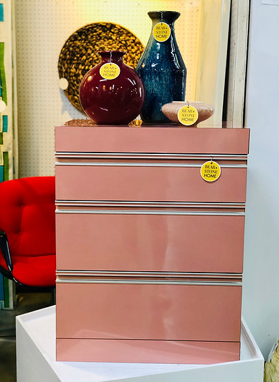 Post Modern Mauve Accent Chest