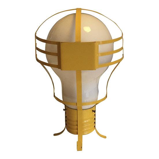 Opalescent Light Bulb Lamp