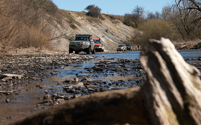 4WD in small river