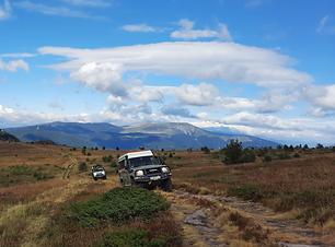 Offroad rijden door het Balkangebergte in Bulgarije.png