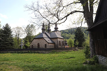 Wooden Lemkos church Beskid Niski