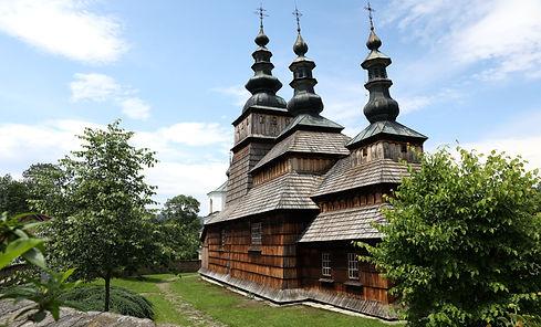 Houten Unesco kerk in zuid Polen.jpg