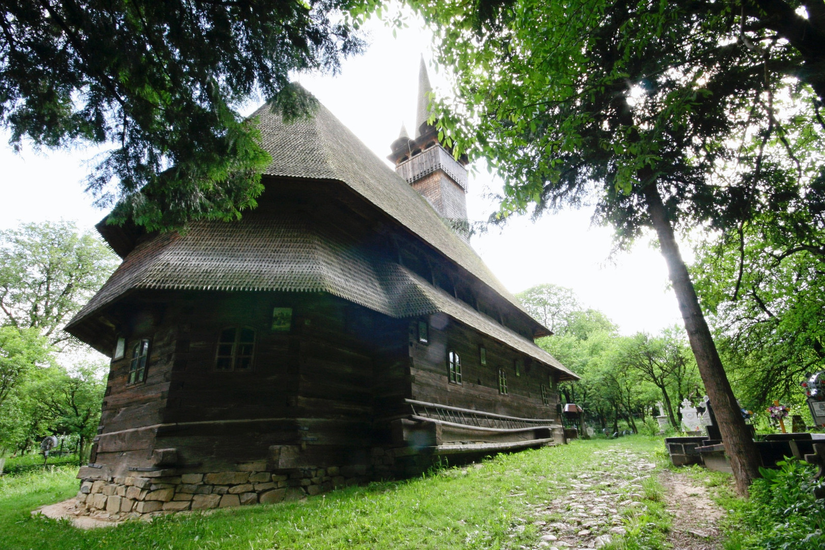 Wooden church in Maramures