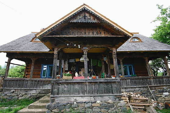 Wooden house in Maramures