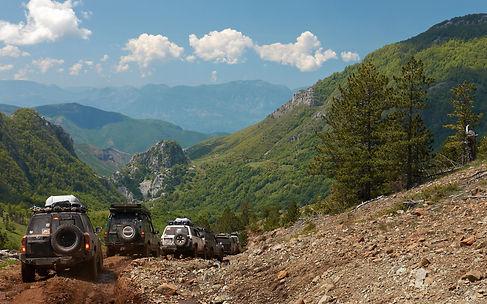 4x4 groepsreis in de Balkan